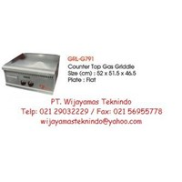 Gas Griddle (Mesin Pemanggang Gas) GRL-G791 1