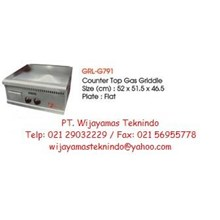 Gas Griddle (Mesin Pemanggang Gas) GRL-G791