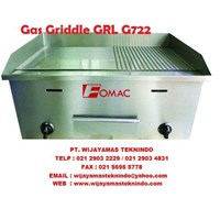 Mesin Pemanggang Gas Griddle GRL-G722 1
