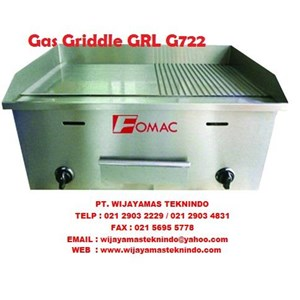 Mesin Pemanggang Gas Griddle GRL-G722