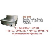 Gas Griddle (Mesin Pemanggang Gas) GRL-G792