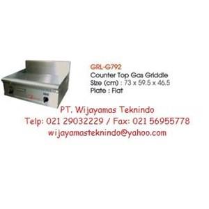 Gas Griddle (Mesin Pemanggang Gas) GRL-G792