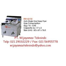 Gas Fryer Double (Mesin Penggorengan Gas Double) FRY-G172