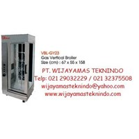 Gas Broiler Vertical (Mesin Pemanggang Bebek Gas) VBL-GY23 1