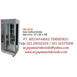 Dari Gas Broiler Vertical (Mesin Pemanggang Bebek Gas) VBL-GY23 0
