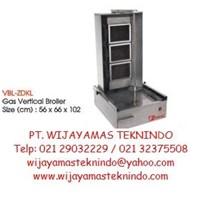 Gas Broiler Vertical GVB-ZDKL Fomac (Mesin Pemanggang Daging Kebab Gas) 1
