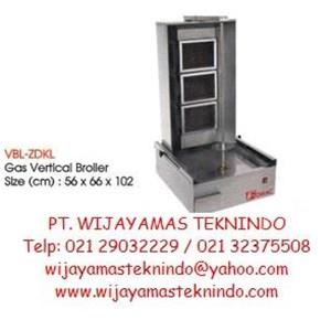 Gas Broiler Vertical GVB-ZDKL Fomac (Mesin Pemanggang Daging Kebab Gas)