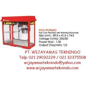Pop Corn Machine POC-POP6AD Fomac (Mesin Pembuat Popcorn)
