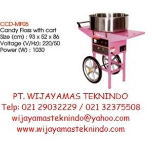 Cotton Candy Machine Electric With Chart (Mesin Pembuat Gulali Elektrik Dengan Meja) CCD-MF05