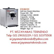 Soft Ice Cream Machine (Mesin Pembuat Es Krim) ICR-BQ108