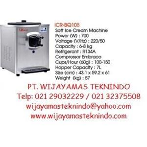 Soft Ice Cream Machine (Mesin Pembuat Es Krim) ICR-BQ108