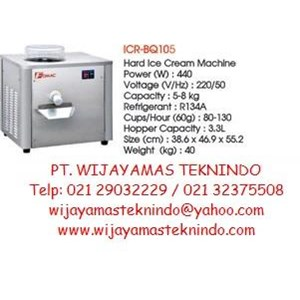 Hard Ice Cream ICR-BQ105 Fomac (Mesin Pembuat Es Krim)