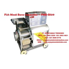 Mesin Pengolah Ikan Fish Meat Bone Separator Machine FMB-BS09 Fomac