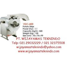 Potato Chip & Slicer Cutter (Mesin Pembuat Kentang Stik) VGC-J600