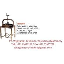 Tofu Maker (Mesin Pembuat Tahu) TMM-DF01