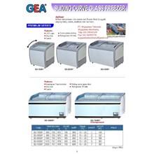 Sliding Curve Glass Freezer (Pembeku Makanan) SD-160BY - SD-700BY