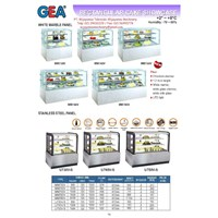 Jual Rectengular Cake Showcase (Mesin pendingin Kue) MM730V-U750V-S