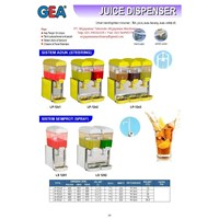 Jual Juicer Dispenser (Mesin Pendingin Jus) LP-12x1 - LS12x2