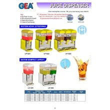 Juicer Dispenser (Mesin Pendingin Jus) LP-12x1 - LS12x2
