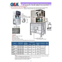 Tube Ice Machine (Mesin Pembuat ES) TV-20 - TV-100
