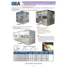 Mesin Pembuat Es Berbentuk Kubus CV-2000 - CV-10000
