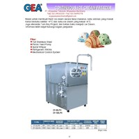 Jual Continuous Ice Cream Freezer (Mesin Pembuat Es krim) CF-50LPH - CF-100LPH