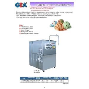 Continuous Ice Cream Freezer (Mesin Pembuat Es krim) CF-50LPH - CF-100LPH
