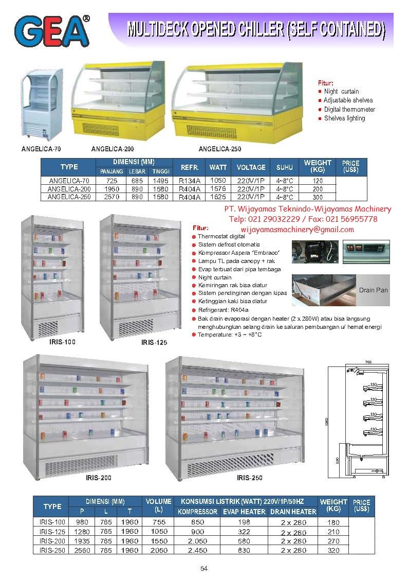 Sell multideck opened chiller angelica 70 iris 250 from indonesia sell multideck opened chiller angelica 70 iris 250 from indonesia by pt wijayamas teknindocheap price ccuart Image collections