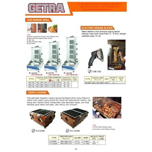 Mesin Pemanggang Makanan HGV-790 - KSE100E - FC-10-2BF