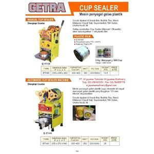 Dari Semi Auto Cup Sealer (Mesin Segel Cup)  ET-D8 - ET-A9 0