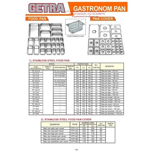 S S Gastronom Pan Food Pan & Pan Cover