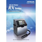 Ink Jet Printer RX Series Standard Model RX-SD-160 W HITACHI 1