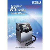 Ink Jet Printer RX Series Standard Model RX-SD-160 W HITACHI 1