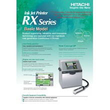 Ink Jet Printer RX Series Basic Model RX-BD-160 W HITACHI
