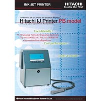 Ink Jet Printer RX Series Model PB-260 A HITACHI