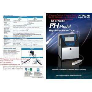 Ink Jet Printer PH Series Model PH D260W-PH D460W HITACHI