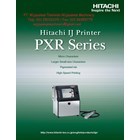 Ink Jet Printer PXR Series Model PXR D240W HITACHI 1