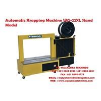 Jual Mesin Warp Atau Pengikat Otomatis Automatic Strapping Machine WG-22XL Stand Model