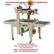 Carton sealer FXJ-5050II Stand Model Mesin Segel Atau Pelakban