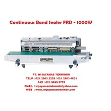 Mesin Press Atau Seal Countinous Band Sealer FRD-1000 W