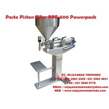 Mesin Pengisian Cairan Paste Piston Filler Machine PPF - 500 Powerpack