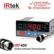 Online Infrared Thermometer IRF400 Merk Irtek