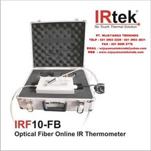 Optical Fiber Online Infrared Thermometer IRF10-FB Merk Irtek