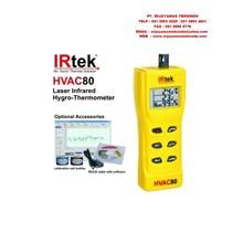 Laser Infrared Hygro-Thermometer HVAC80 Merk Irtek