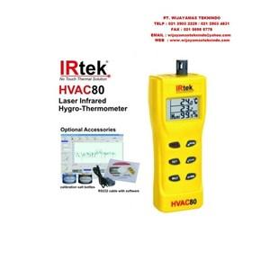 Dari Laser Infrared Hygro-Thermometer HVAC80 Merk Irtek 0