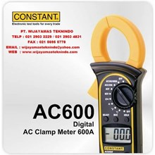 Digital AC Clamp Meter 600A AC600 Merk Constant