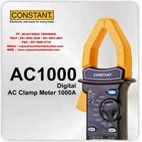 Digital AC Clamp Meter 1000A AC1000 Merk Constant
