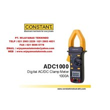Digital AC-DC Clamp Meter 1000A ADC1000 Merk Constant