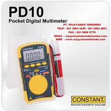 Pocket Digital Multimeter PD10 Merk Constant
