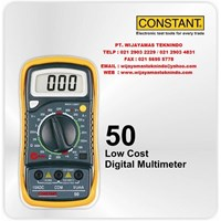 Jual Low Cost Digital Multimeter 50 Merk Constant